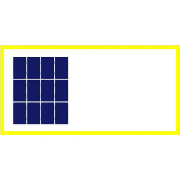 3x4 zonnepanelen