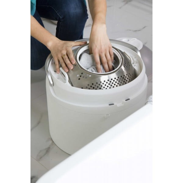 wassen zonder stroom