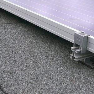 Bitumen dak zonnepanelen montage sets