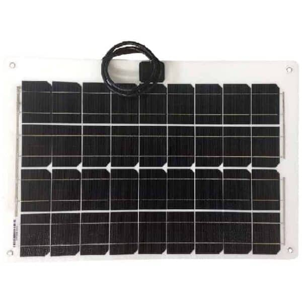 30Wp flexibele zonnepaneel - voor campers of boten