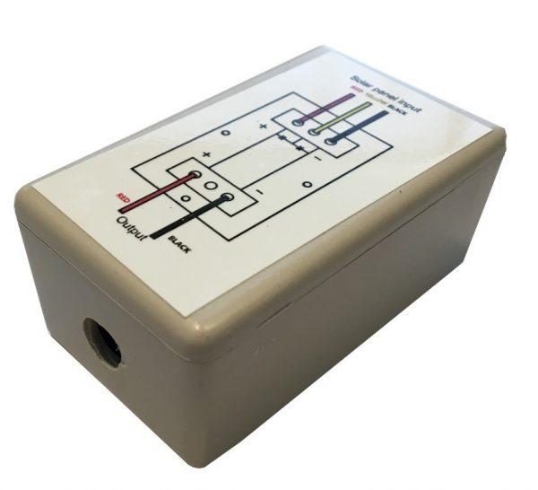 Bypass diode box voor flush zonnepaneel