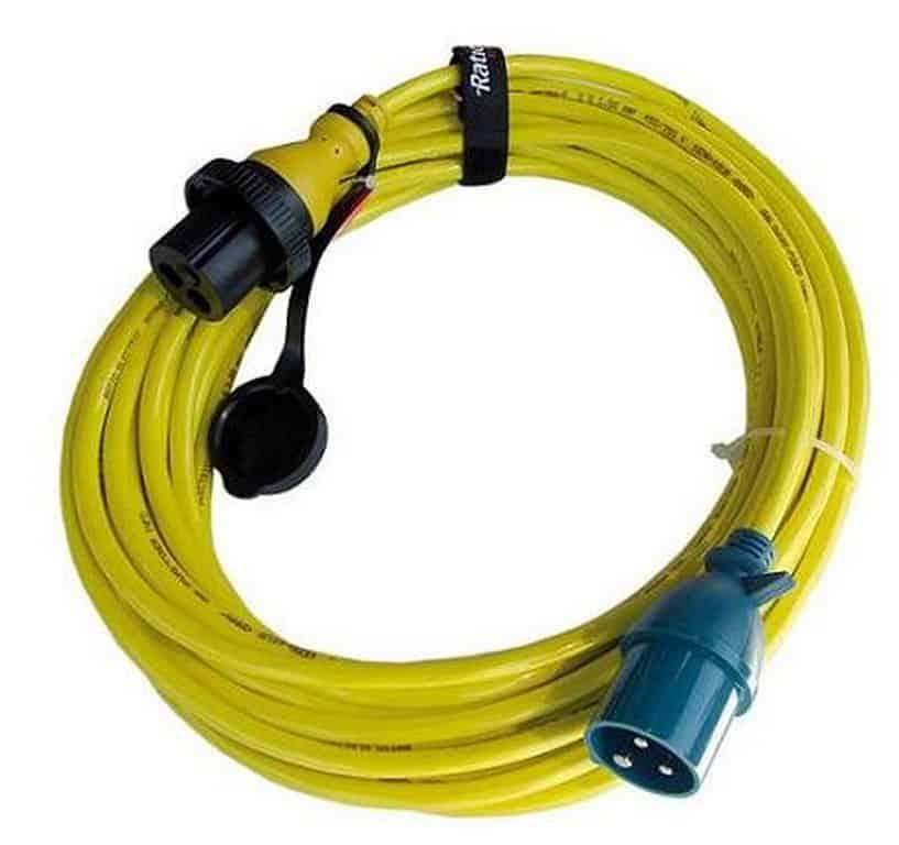 Ratio walstroom kabel 3x4mm2 25m 25A/250V