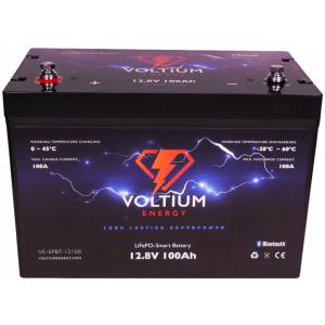 voltium 12,8v 100ah lithium batterij