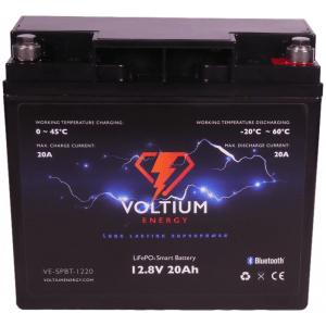 voltium 12,8v 20ah lithium batterij